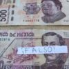 BILLETE FALSO EN QROO